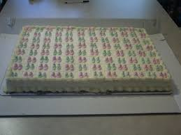 Baby Shower Cake – 1 2 Sheet