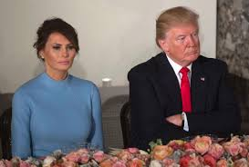 Image result for trump and wife unhappy