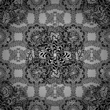 抽象的な花綺麗な模様グレーはベクトル図を発見しました背景灰色の背景