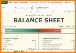 basic balance sheet 8 basic balance sheet template excel credit letter sample