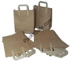 Large kraft paper bags