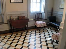 carlyle house alexandria va this tumbling blocks design by john carwitham from the century fits perfectly in the study of this magnificent historic home