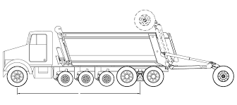 Federal Bridge Chart Federal Bridge Laws Vehicle Weight Laws Dump Trucks