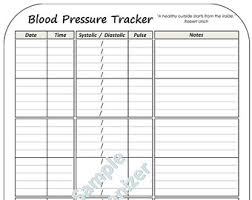 bp log printable blood pressure and pulse log oyle kalakaari co
