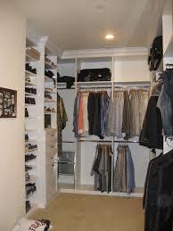 closet style custom storage storage organization open shelves closet storage open storage shoe storage white meleamine crown molding master walk closet