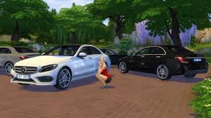 Mercedes-Benz C Class at LorySims » Sims 4 Updates