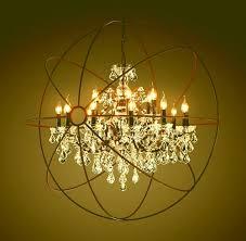 ceiling lights large round chandelier ethan allen lighting chandeliers restoration hardware furniture rh orb chandelier