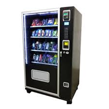 Compact Combination Vending Machine Cool Avanti 48 Snack 48 CanBottle Glass Front Combo Avanti Vending