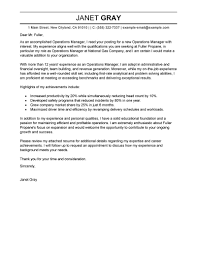 Cover Letter Sample Cover Letter Executive Director Cover Letter