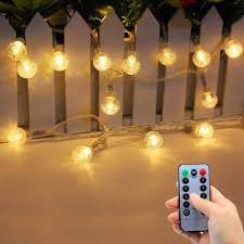 Outdoor Led String Lights With Remote Control
