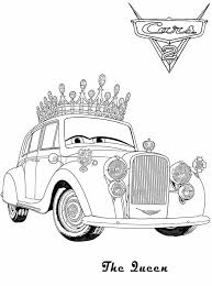 Small Picture The Queen Coloring Pages For Kids Cars 2 Cartoon Coloring pages