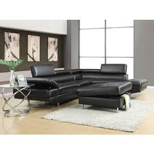 Saturn Sectional LAF Sofa & RAF Chaise Coal SFU9088 Living