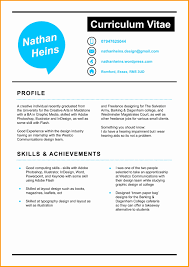Freelance Graphic Designer Resume New Resume Format For Graphic