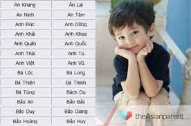 Tên bé trai họ Nguyễn- Những gợi ý hay cho bố mẹ