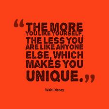 Walt Disney Quote About Unique