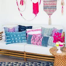 boho pillows vintage home decor