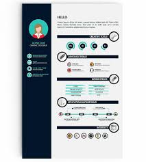 Template Infographic Resume Templates 13 Examples To Download Use