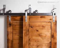 doors bypass sliding barn door hardware track kit with and pulley locking exterior johnson