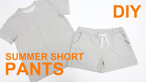 How To Draw Pants Diy Easy Summer Short Pants How To Draw Sewing Pattern Sewingtimes
