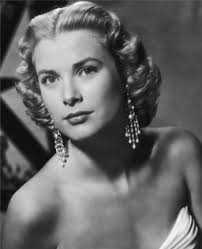 grace kelly s famous center part hairstyles 1950s