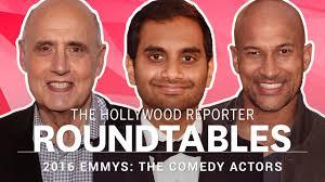 Actors Round Table Thrs Full Comedy Actor Roundtable Aziz Ansari Jeffrey Tambor