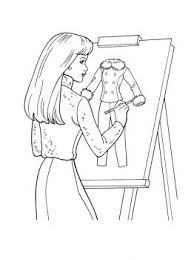 Fashion Designer Coloring Pages Google Search Spring Show