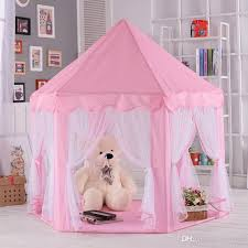 Kids Play Tents Prince Princess Party Tent Children Indoor Outdoor Tent Big  Game House Three Colors Boys Indoor Play Tent Tent For Baby From Winland,  ...