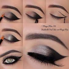 smokey eyes minus dark shades