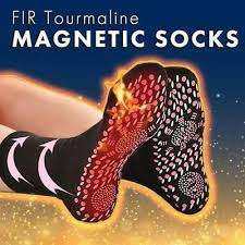 FIR <b>Tourmaline Magnetic Socks</b> - <b>Self Heating</b> Therapy <b>Magnetic</b> ...
