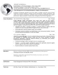 Resume Examples Purchase Manager Samples Regarding Marvellous Sales
