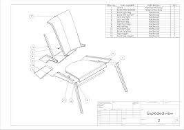 furniture design drawings. final technical drawings furniture design _