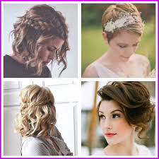 Coiffure Mariage Cheveux Courts Femme 60004 Coiffure Femme