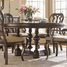 Pedestal Dining Table Set Round Wood Pedestal Dining Table Hooker Furniture Tynecastle