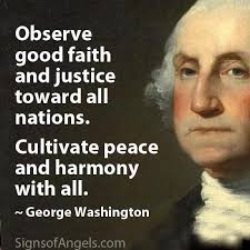 George Washington Famous Quotes Adorable George Washington Quote Words Of A Great Justice System The Federal