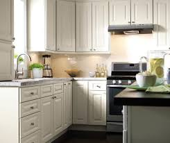 ... Montella off-white painted kitchen cabinets in French Vanilla ...
