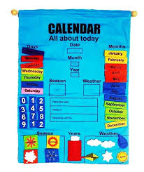 Fabric Days Of The Week Chart All About Today Fabric Wall Chart