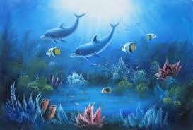 magical underwater sea world 2 canvas set 2 canvas set animal
