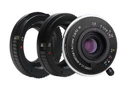 Lomo LC-A MINITAR-1 Art Lens <b>Black</b> & Mount Adapter <b>Kit</b> ...