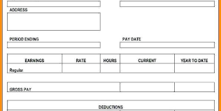 Payroll Pay Stub Template Free Paystubs Direct Archives Techeduhp