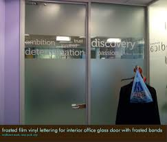office glass frosting. 4 frosted lm vinyl lettering for interior ofce glass office frosting g
