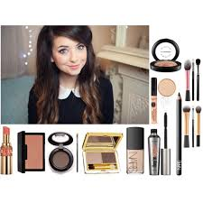 zoella makeup 6 a beauty collage from november 2016 featuring estée lauder mac cosmetics and benefit mascara
