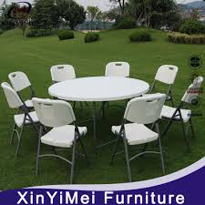 china plastic banquet folding table and chairs 6ft round table catering table china round table plastic folding table