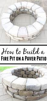 how to build a fire pit on a