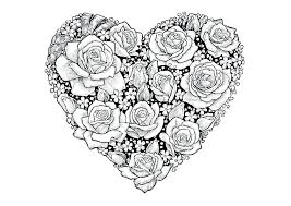 Heart Colouring Pictures To Print Love Heart Coloring Pages Coloring