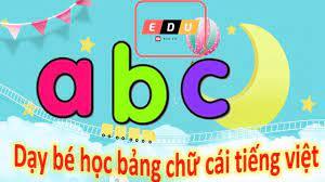 Bảng chữ cái tiếng việt] Dạy bé học bảng chữ cái tiếng việt mới nhất 2021 -  giasubachkhoa.net