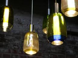 blown glass pendant lighting. incalmo pendant lamps are hand blown using repurposed wine bottles which is a super eco glass lighting