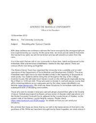 president s memo on rebuilding after typhoon yolanda ateneo de  president s memo on rebuilding after typhoon yolanda