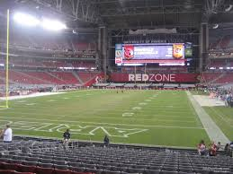 Cardinals Stadium Seating Chart Arizona State Farm Stadium Section 117 Arizona Cardinals