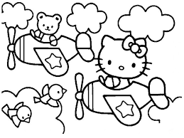 Hello Kitty Coloring Pages Overview With A Lot Of Kitties Hello ...