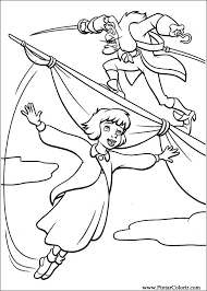 Drawings To Paint Colour Peter Pan 2 Print Design 013